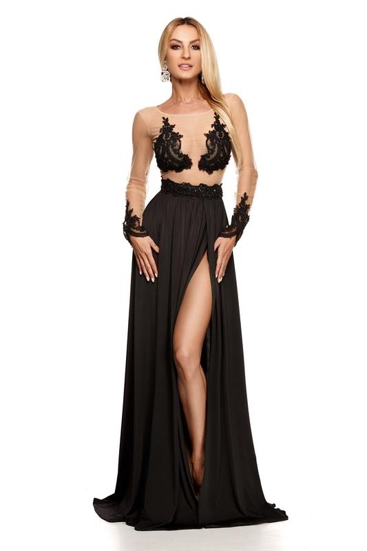 20769a64d7e4 Γυναικεία   Ρούχα   Φορέματα   Καθημερινά   9222 RO Βραδινό μάξι ...