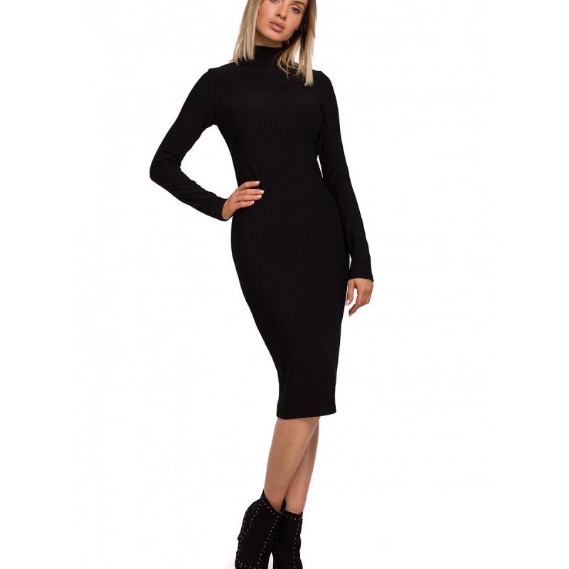 Πλεκτό Ρίπ Ζιβάγκο Φόρεμα 147987 Moe