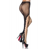 8416 AX Tights with mesh front section