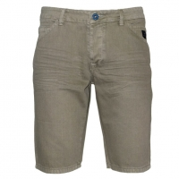 71309-28 Men's jean short - beige