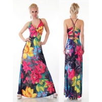 Dresses - 30886 SD SEXY MAXI DRESS PINK