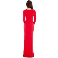 9069 GB Μάξι φόρεμα με διαφάνεια