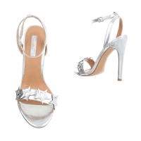 0720 LD Ladies Sandals - Silver