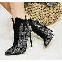0765 ST Ankle Boot - Black