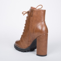 0771 ID Women's high boots - Camel
