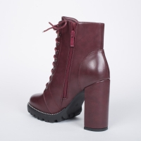 0784 ID Women's high boots - Bordeaux