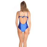 41814 FS Sexy swimsuit with mesh - Royal Blue