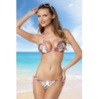 8608 AX Cute triangle bikini -Pink