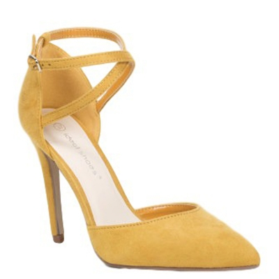 0741 ID Whomen's shoes - Yellow
