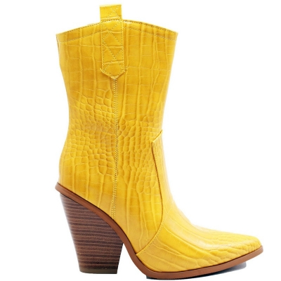 0760 ST Ankle Boot - Yellow