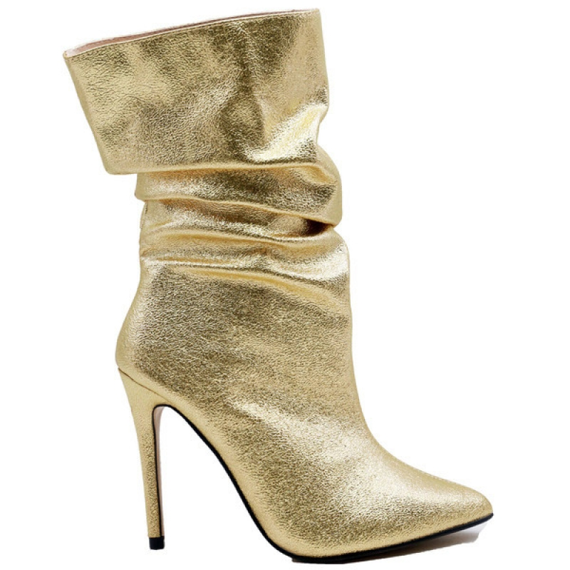 0763 ST Ankle Boot - Gold