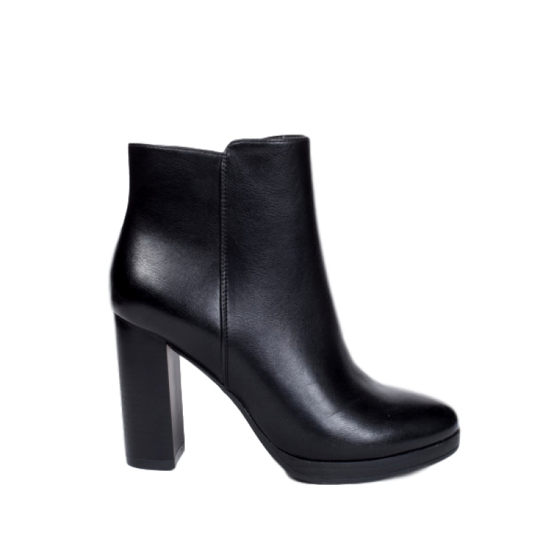 0774 ID Women's high ankle boots - Black