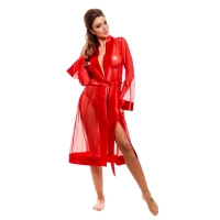 2422 HM Beautiful sexy bathrobe-Red