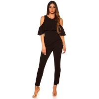42035 FS Overall with flounce - Black