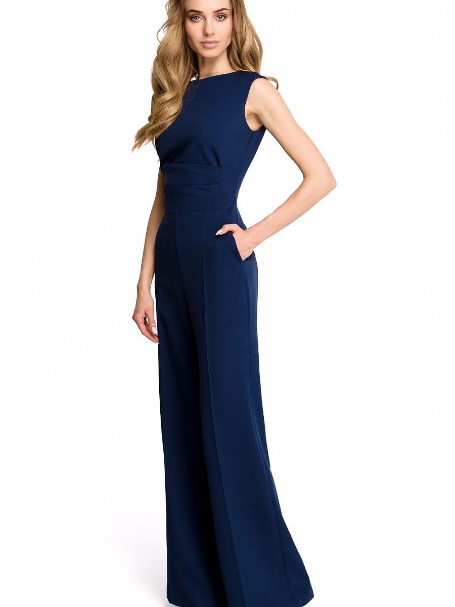 Ολόσωμη Φόρμα 116634 Style-Μπλε σκούρο